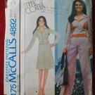 McCall's 4892 vintage 1976 pattern Marlo's Corner jacket skirt pants Marlo Thomas