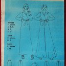 Simplicity 6020 vintage 1973 pattern blouse, palazzo pants, skirt  bust 32.5 in