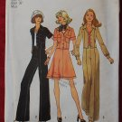 Simplicity 6812 vintage 1974 pattern for jacket skirt, pants bust 36 inches