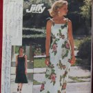 Simplicity 7519 vintage 1976 pattern knit dress size 8-10, cut