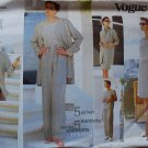 Vogue 1576 pattern sizes 12-16, reversible pieces dated 1995