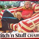 Stitch 'n Stuff chair pattern by Butterick 101, bolster style Per Dalsgaard design