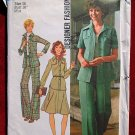 Simplicity 7046 vintage 1975 pattern for Designer Fashion suits