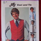 Simplicity 7701 vintage 1976 pattern for men's Jiffy vest and tie