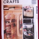 McCall's 8260 pattern for closet organizers, garment bag, wall organizers, car caddy