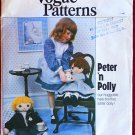 "Vogue 2036 vintage Peter 'n Polly 24"" doll pattern with clothes"