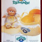 Butterick 6661 Cabbage Patch Kids craft pattern for bed carrier