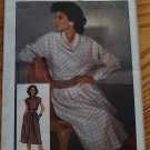 Simplicity 6734 vintage 1984 Henry Grethel classic 1980s cowl top and skirt