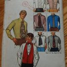 Simplicity 9192 vintage 1970 men's vest, cummerbund, neckties, bowties, ascot, evening business