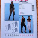 Burda 7463 pattern for high waisted or high waist pants and knickers, sizes 10-20 Eurofashion