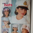 Butterick 6612 or 245 pattern for hats: sailor, captain, or Prinz Heinrich style