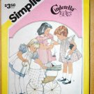 2 vintage Simplicity Cinderella patterns 7006 and 6306 children's size 6
