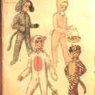 Vintage Simplicity 9050 pattern for kids animal costumes including