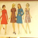 Vintage Style pattern 3870 dresses 1970s bust 40 inches,  size 18,