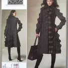 Vogue 1213 or v1213 pattern Koos Van Der Akker coat reminiscent of Memphis ceramics size 14-20