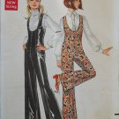 Butterick 5373 vintage 1960s pattern groovy catsuits, unusual shaping, bust 34 inches