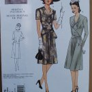 Vintage Vogue 2876 or v2876 pattern for 1943 diamond gather dress