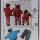 Burda Easy 9780 kids' pattern for animal ears jacket and pants, sizes 3m to 2 years