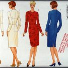 Butterick 5746, personal fitting pattern size 12 bust 34, waist 26.5, hips 36.5