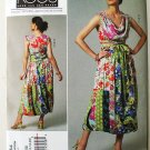 Vogue V1244 or 1244 Koos Couture Koos Van den Akker patchwork skirt and top size 14-20