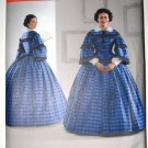 Simplcity 3727 pattern Wisconsin Historical Society Civil War gown reenactment costume, 6-14