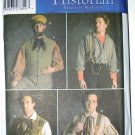 Simplicity 5037 pattern vests, suspenders, cap, 19th C. or early 20th C., Hobbit, men's 38-44