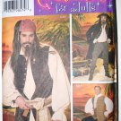 Simplicity 4923 pattern for pirate costumes ala Johnny Depp Jack Sparrow, size L-XL