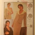 Burda 8862 pattern for skirt and jacket top.  Sizes 6-18.