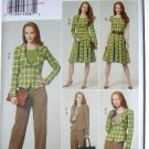 Vogue 8701 skirt, blazer jacket and pants pattern sizes 6-12