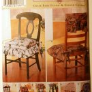 Simplicity 7966 pattern for chairpads futon and glider covers