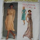 Vogue French Boutique 1418 Renata Paris dress pattern, 1970s
