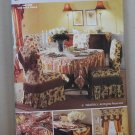Butterick 4760 Waverly Formal dining room pattern chairs table setting curtain valance