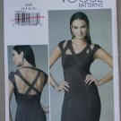 Vogue V8705 or 8705 pattern for strappy pencil cocktail dress size 4-10