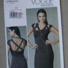 Vogue V8705 or 8705 pattern for strappy pencil cocktail dress, Donna Karan-esque size 12-18