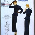 Vogue vintage pattern v8686 or 8686 dress from 1933 size 6-12