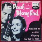 Les Paul and Mary Ford. How High The Moon 45 RPM 1953 The Hit Makers! Part I