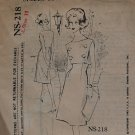 1960s dress Capucci Spadea NS-218 sewing pattern 10 bust 34