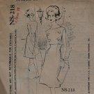 1960s dress Capucci Spadea NS-218 sewing pattern 10 bust 34
