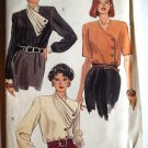 1990 Very Easy Very Vogue 7946 pattern for pleated blouses size 8-12