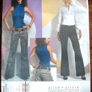 Vogue v2907 2907 Alice + Olivia pattern for low slung slacks pants size 10-14