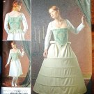 Simplicity 2621 pattern for Baroque or 16th Century Undergarments Costume. Size 16-24