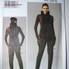 Vogue 8757 v8757 pattern for avant garde tunic and pant size 10-16