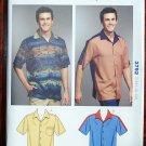 Kwik Sew pattern 3792 Men's shirts Rockabilly, Hawaiian, bowling, hipster, retro sizes s-xxl