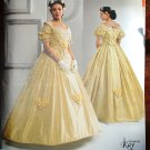 Simplicity 2881 pattern sizes 16-24, Museum Curator Kay Gagney 19th Century costume gown