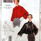 Vogue Vintage 2934 Misses Original 1950 Design jacket cape pattern Sizes 8-22
