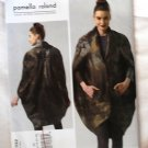 Vogue v1332 or 1332 Pamella Roland Avant Garde pea pod coat pattern sizes 14-22