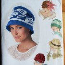 Simplicity 1736 pattern for Theresa Laquey retro skull cap hats