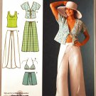 Simplicity 4192 pattern for resort wear, wrap type bottoms sizes 6-14