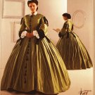 Simplicity 2887 pattern for Museum Curator Kay Gnagey 19th Century gown dresssizes 8-14