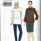 Vogue v9064 pattern for top, skirt, and pants, color blocked cosplay scifi  sizes 14-16-18-20-22